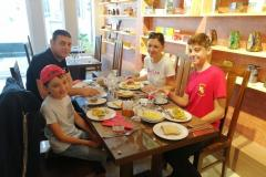 A-Family-Enjoying-Morning