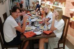 Having-Breakfast-at-the-Restaurant